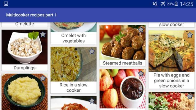 Multicooker Recipes Part 1 screenshot 9