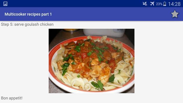 Multicooker Recipes Part 1 screenshot 13
