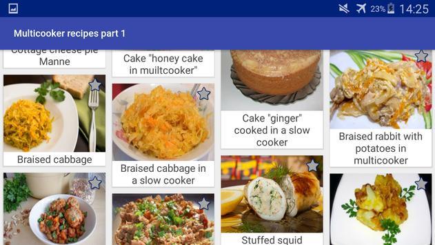 Multicooker Recipes Part 1 screenshot 16