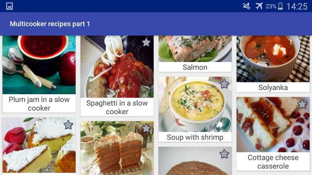 Multicooker Recipes Part 1 screenshot 18