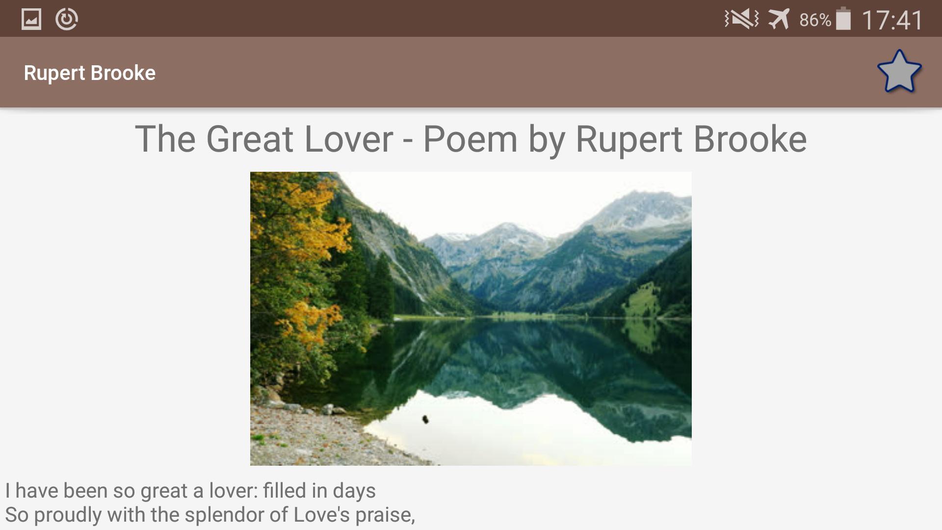 Rupert Brooke Poems For Android Apk Download