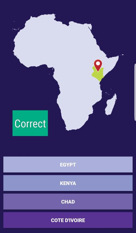 Africa Countries Map Quiz for Android - APK Download