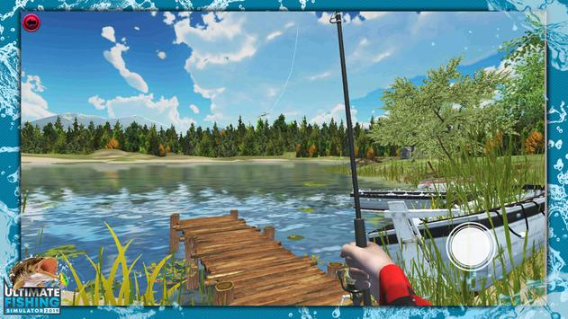 Ultimate Fishing Simulator PRO poster