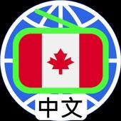 加拿大中文電台 加拿大中文收音機 全球中文電台 Canada Chinese Radio Zeichen