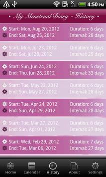 My Menstrual Diary screenshot 4
