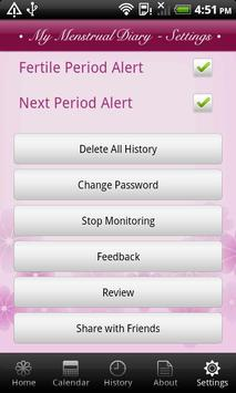 My Menstrual Diary screenshot 6