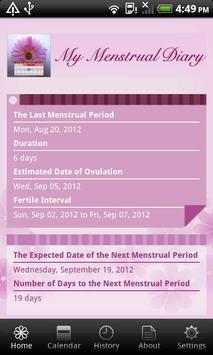 My Menstrual Diary screenshot 2