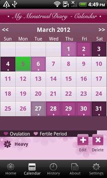 My Menstrual Diary screenshot 3