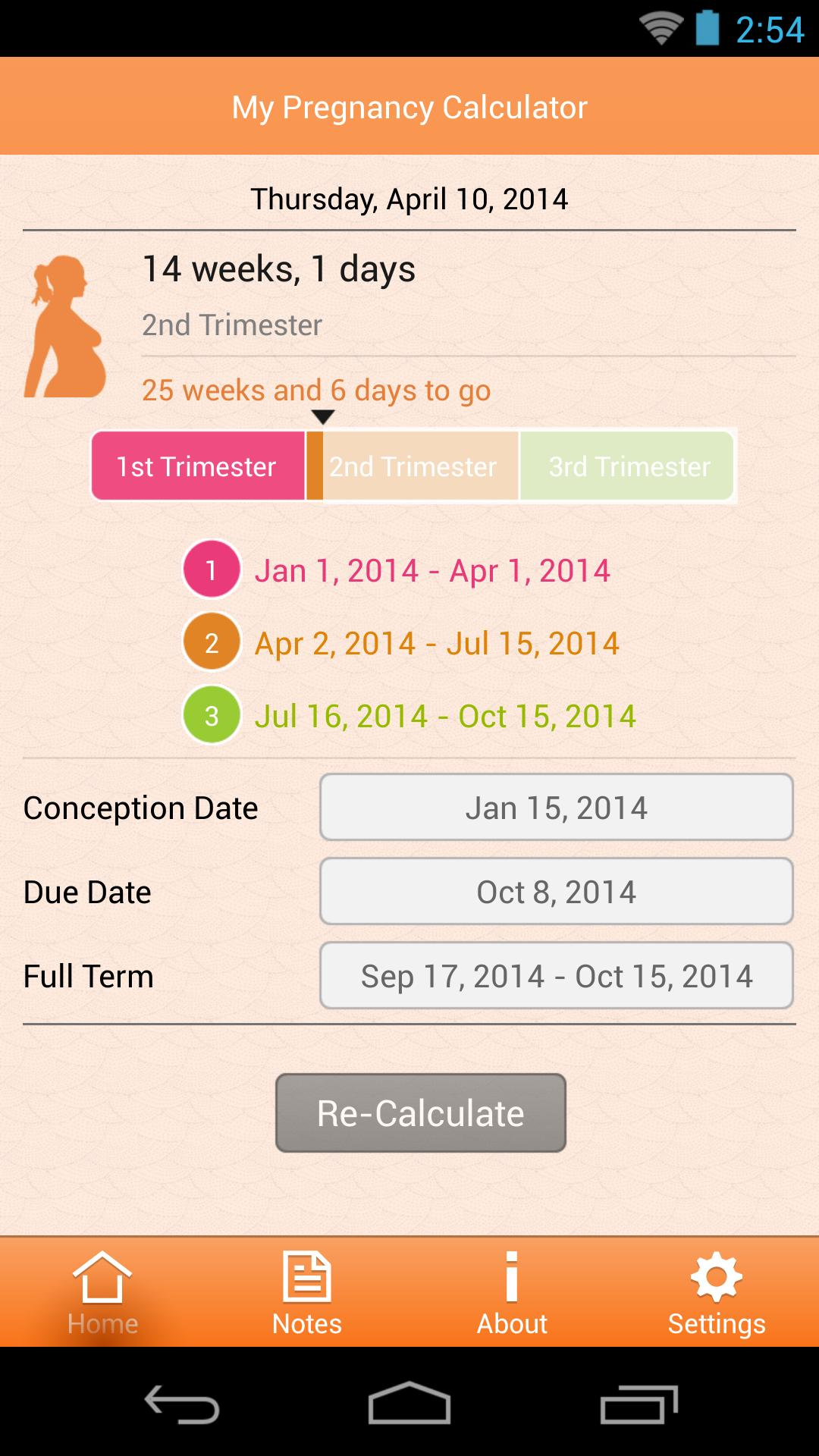 My Pregnancy Calculator for Android - APK Download