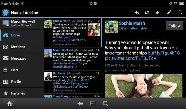 Echofon Screenshot 6