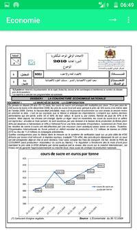 Economie générale et Statistiques : 2ème BAC (SE) screenshot 4