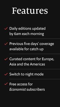 Economist Espresso. A morning news briefing screenshot 7