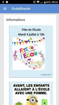 Mon EcoleDirecte poster