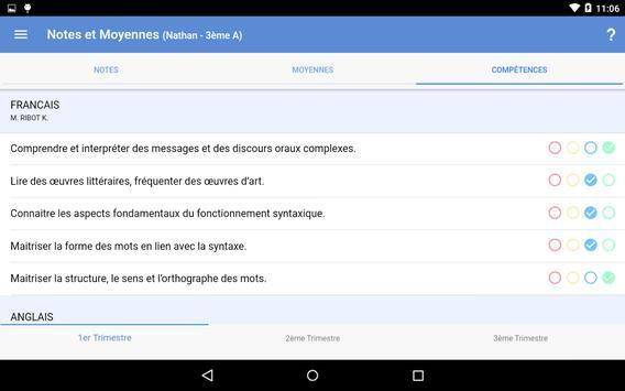 Mon EcoleDirecte screenshot 10
