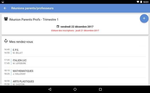 Mon EcoleDirecte screenshot 16