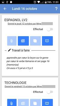 Mon EcoleDirecte screenshot 7