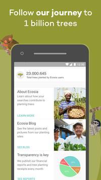 Ecosia screenshot 3