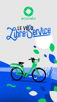 Marseillan - vélo libre-service poster