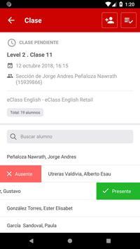 eClass Docencia screenshot 4