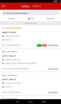 eClass Docencia screenshot 8