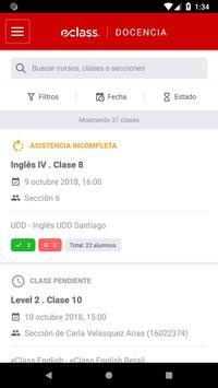 eClass Docencia screenshot 2