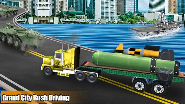 Bomb Transporter Sim 2019 - 3d City Truck Game screenshot 4