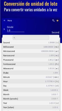 Convertidor de Unidades - Conversor de Medidas captura de pantalla 10