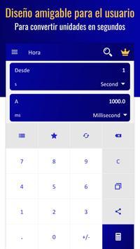 Convertidor de Unidades - Conversor de Medidas captura de pantalla 1