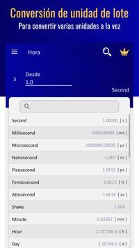 Convertidor de Unidades - Conversor de Medidas captura de pantalla 3