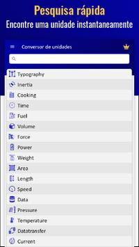 Conversor de Unidades - Conversor de Medidas imagem de tela 18