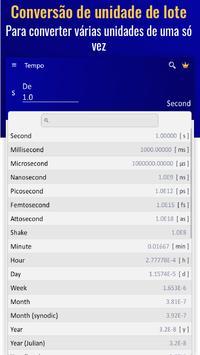 Conversor de Unidades - Conversor de Medidas imagem de tela 10