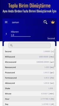 birim dönüştürücü - birim çevirme Ekran Görüntüsü 3