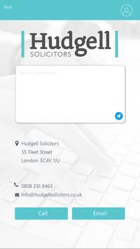 Hudgell Solicitors screenshot 2