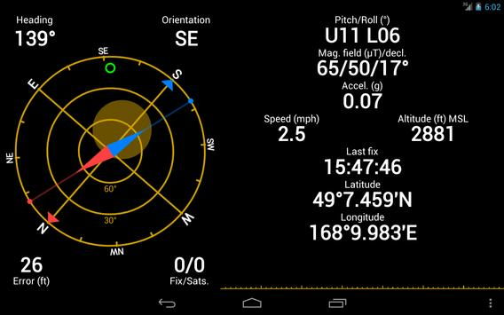 GPS Status screenshot 10