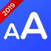 ikon Font Besar - Ubah Ukuran Huruf