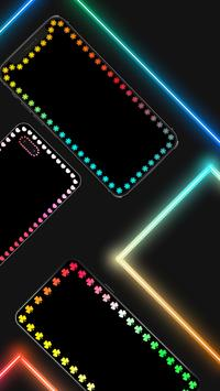 Edge Lighting Colors - Round Colors Galaxy تصوير الشاشة 1