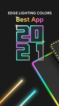 Edge Lighting Colors - Round Colors Galaxy تصوير الشاشة 2