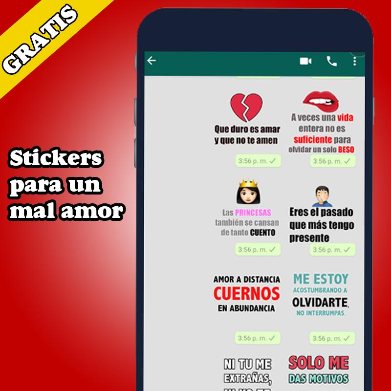 Mejor Stickers De Amor Frases Memes Wastickerapps For
