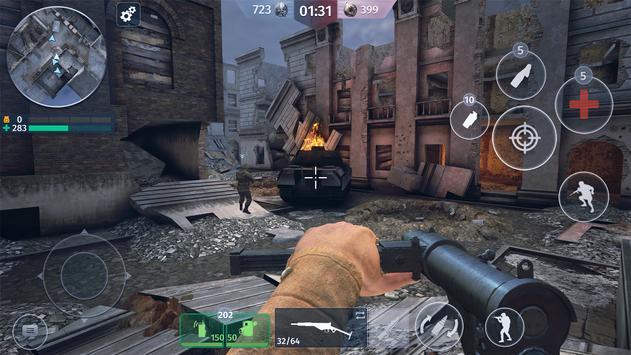 World War 2 - Battle Combat screenshot 4