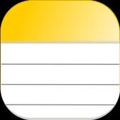 notas ícone