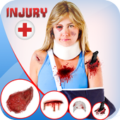 Injury Photo Editor 2019 Fake Injuries Maker icon