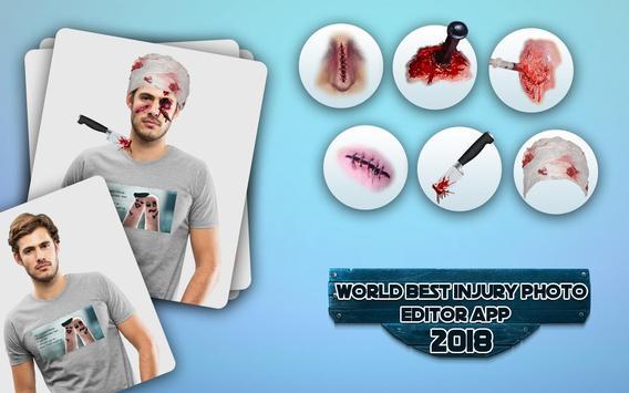 Injury Photo Editor 2019 Fake Injuries Maker poster