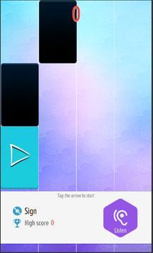 Manga and Anime - Piano Tiles Song screenshot 1