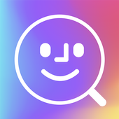 FaceSearch. Search by photo icon