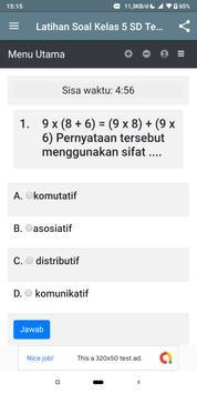 Latihan Soal Kelas 5 SD Tematik screenshot 7