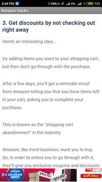 30 Amazon Hacks to Save Money screenshot 2