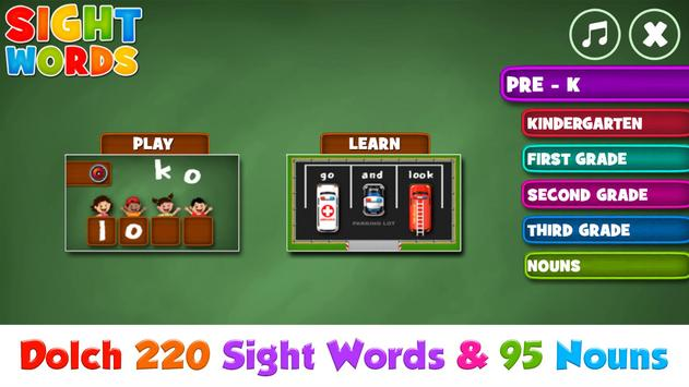 Sight Words screenshot 8