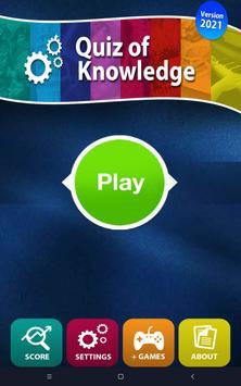 Quiz Wiedzy - Darmowe gry screenshot 8