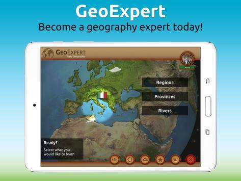 GeoExpert - Italy Geography screenshot 9