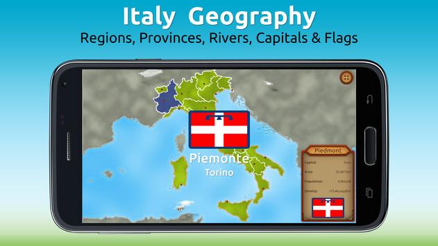 GeoExpert - Italy Geography poster